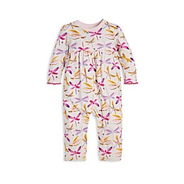 Burt's Bees Baby® Autumn Sky Dragon Fly Organic Cotton Coverall in Cream
