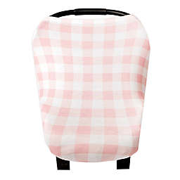 Copper Pearl™ London 5-in-1 Multi-Use Cover in Pink Plaid