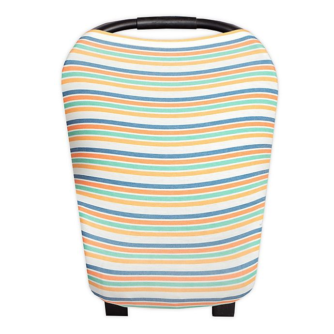 Alternate image 1 for Copper Pearl™ Retro 5-in-1 Multi-Use Cover in Multi Stripe