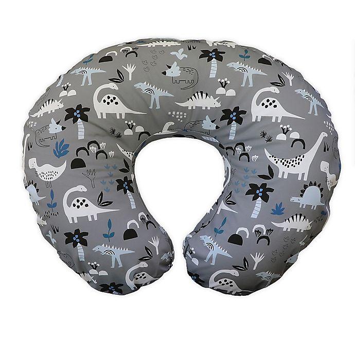 Alternate image 1 for Boppy® Nursing Pillow Nursing Pillow in Grey Dinosaurs