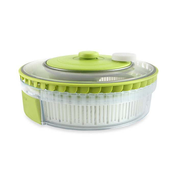 Dexas 174 Turbo Fan Expandable Collapsible Salad Spinner