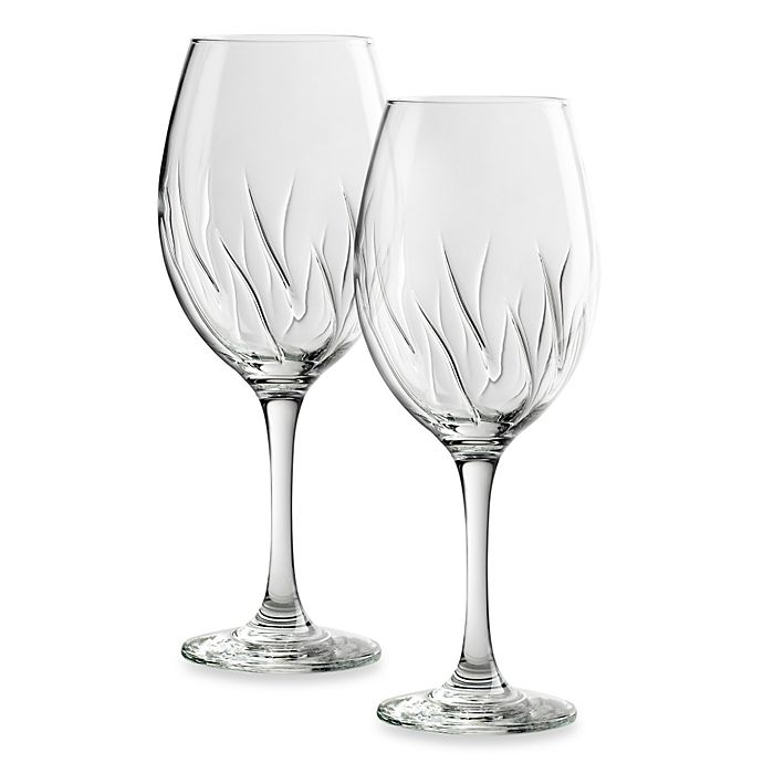 Alternate image 1 for Amici 18-Ounce Aerating Wine Glass (Set of 2)