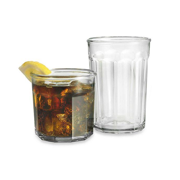 Alternate image 1 for Luminarc® Working Glass 16-Piece Glassware Set