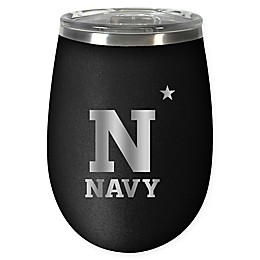 United States Naval Academy STEALTH 12 oz. Insulated Wine Tumbler