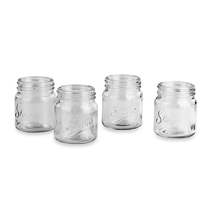 Alternate image 1 for Mason Jar Shot Glasses (Set of 4)