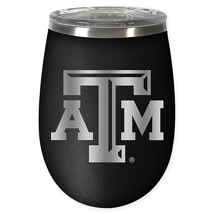 Alternate image 1 for Texas A&M University STEALTH 12 oz. Insulated Wine Tumbler