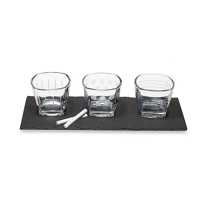 Alternate image 1 for Mikasa® Cheers 4-Piece Condiment Set