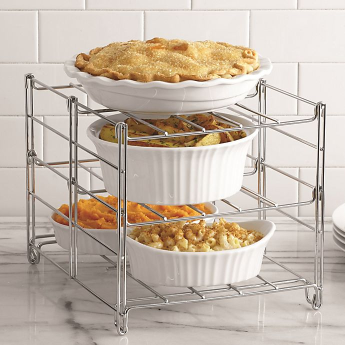 3 Tier Adjule Oven Rack View A Larger Version Of This Product Image