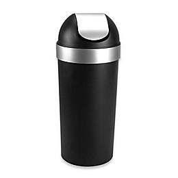 Umbra® Venti 62-Liter Trash Can in Black