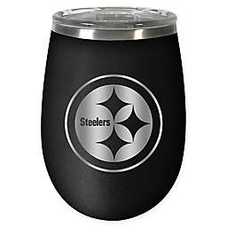 NFL Pittsburgh Steelers STEALTH 12 oz. Insulated Wine Tumbler