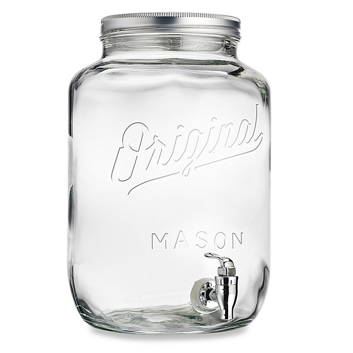 Del Sol Original Mason 2 15 Gallon Beverage Dispenser