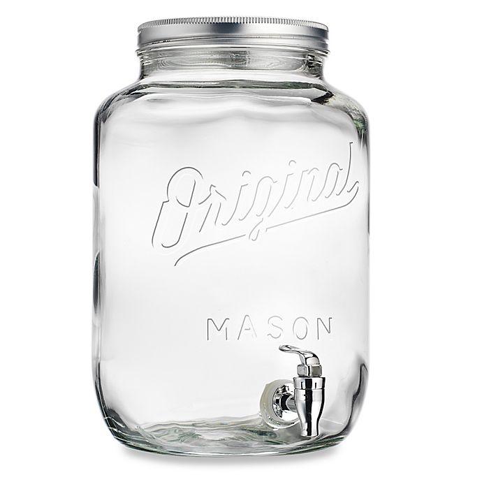 Del Sol Original Mason 2 15 Gallon Beverage Dispenser