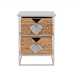 Marmalade™ Storage Tower with Handwoven Baskets in Grey