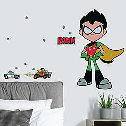 RoomMates® 24-Piece Teen Titans Go! Robin Peel and Stick Giant Wall Decal Set