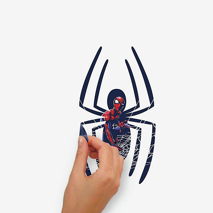 Alternate image 1 for RoomMates® 18-Piece Spider-Man Peel and Stick Giant Wall Decal Set