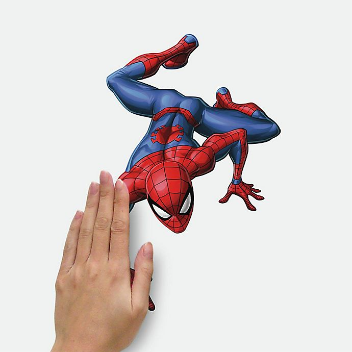 Alternate image 1 for RoomMates® 32-Piece Spider-Man Favorite Characters Peel and Stick Wall Decal Set
