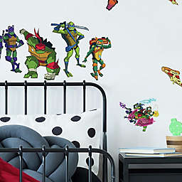 RoomMates® 25-Piece Rise of TMNT Peel and Stick Wall Decal Set
