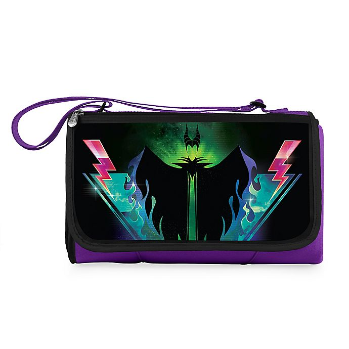 Alternate image 1 for Disney® Maleficent Outdoor Picnic Blanket in Purple