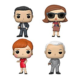 Funko® POP! TV Mad Men 4-Pack Series 1 Collectors Figurines Set
