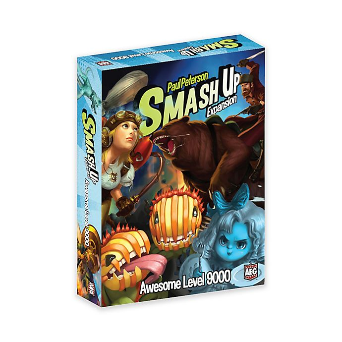 Alternate image 1 for Smash Up Expansion Awesome Level 9000 Card Game