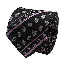 Marvel® Black Panther Stripe Men's Necktie in Black