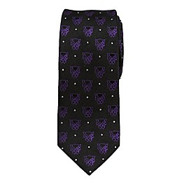Marvel® Black Panther Dot Boy's Necktie in Purple