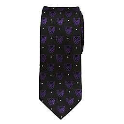 Marvel® Black Panther Dot Boy's Necktie in Purple