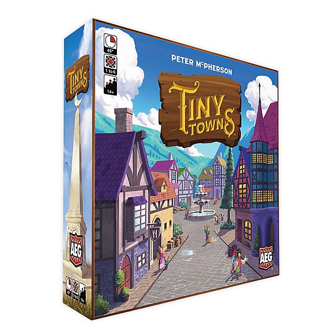 Alternate image 1 for Tiny Towns Family Board Game