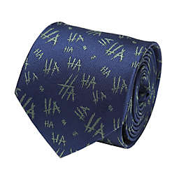 DC Comics™ Joker Ha Ha Men's Necktie in Blue