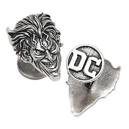 DC Comics™ Joker Face Sterling Silver Cufflinks