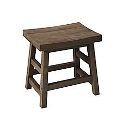Alaterre Furniture Pomona Solid Wood Stool