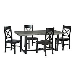 Forest Gate™ Farmhouse 5-Piece Dining Set