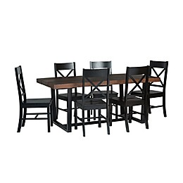Forest Gate™ 7-Piece Solid Wood Dining Set