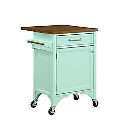 Bee & Willow™ Home 2-Drawer Kitchen Island in Mint