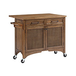 Bee & Willow™ Home 2-Drawer Kitchen Island in Walnut