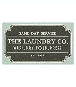 Tapete decorativo Maples™ Spring Print Laundry, 50.8 x 86.36 cm en gris