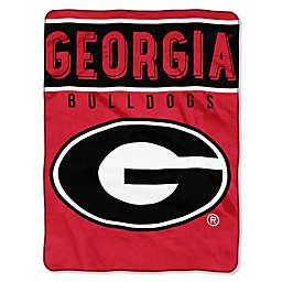 University of Georgia Raschel Plush Throw Blanket