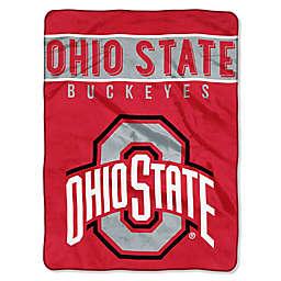 Ohio State University Raschel Plush Throw Blanket