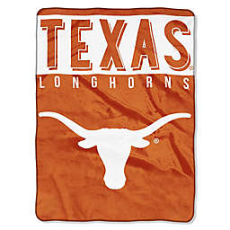 University of Texas Raschel Plush Throw Blanket