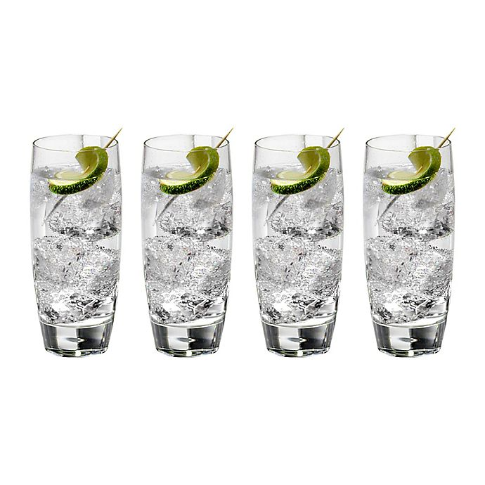 Alternate image 1 for Luigi Bormioli Michelangelo Masterpiece Sparks Beverage Glasses (Set of 4)