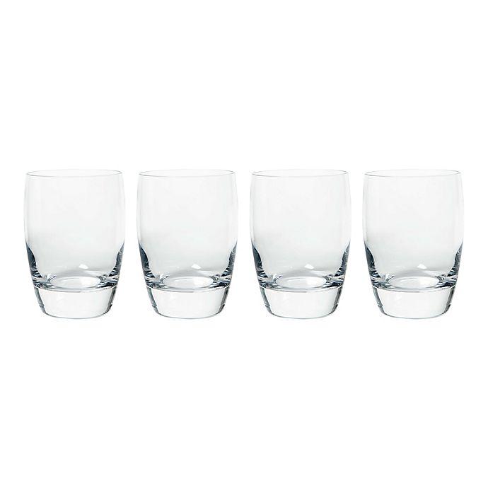 Alternate image 1 for Luigi Bormioli Michelangelo Masterpiece Sparks  12 oz. Double Old Fashioned Glasses (Set of 4)