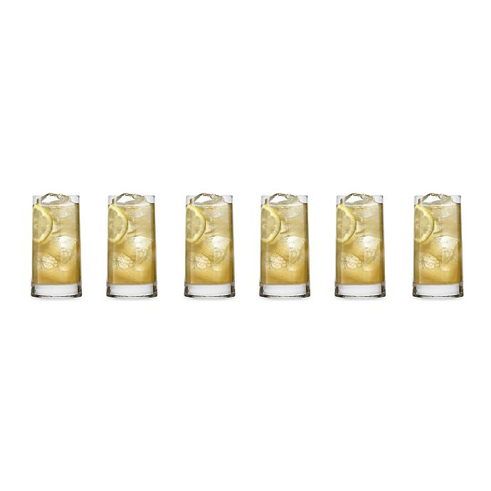 Alternate image 1 for Luigi Bormioli Veronese SON.hyx Highball Glasses (Set of 6)