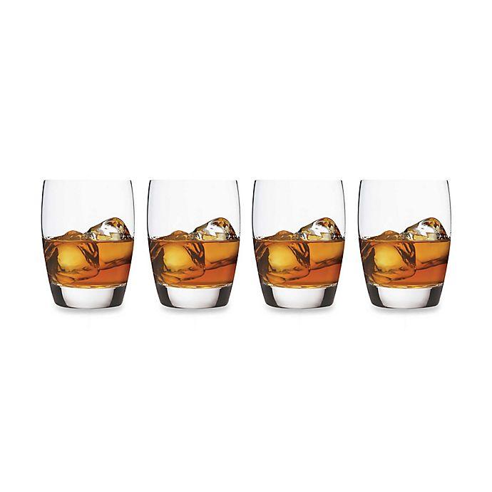 Alternate image 1 for Luigi Bormioli Michelangelo Masterpiece Sparks 15.75 oz. Double Old Fashioned Glasses (Set of 4)