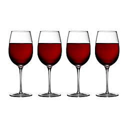 Luigi Bormioli Crescendo SON.hyx® Bordeaux Wine Glasses (Set of 4)