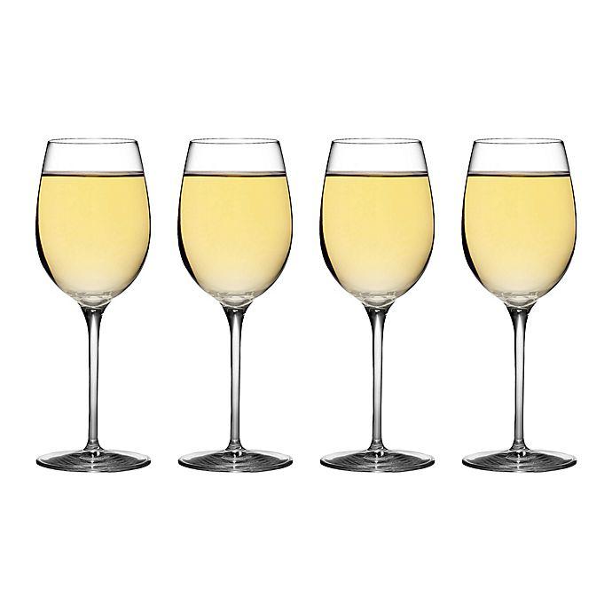 Alternate image 1 for Luigi Bormioli Crescendo SON.hyx® Chardonnay Wine Glasses (Set of 4)