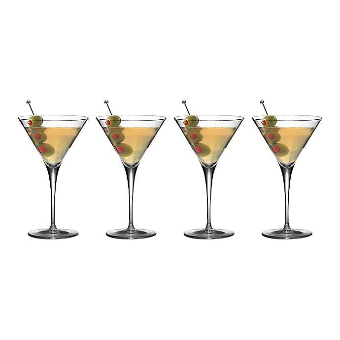 Alternate image 1 for Luigi Bormioli Crescendo SON.hyx Martini Glasses (Set of 4)