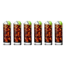 Luigi Bormioli Strauss SON.hyx Square Beverage Glasses (Set of 6)