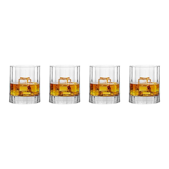 Alternate image 1 for Luigi Bormioli Bach SON.hyx® Double Old-Fashioned Glasses (Set of 4)