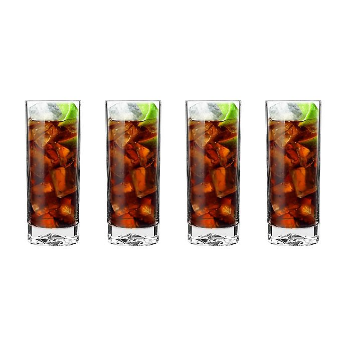 Alternate image 1 for Luigi Bormioli On the Rocks SON.hyx® Beverage Glasses (Set of 4)