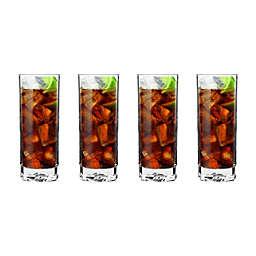 Luigi Bormioli On the Rocks SON.hyx® Beverage Glasses (Set of 4)